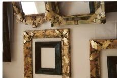 carboard gilded frames