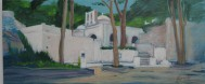 Sifnos1, acrylic on canvas, 70x35, 2006