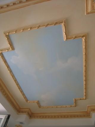 fresco, faux ciel