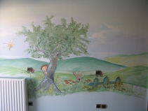 country side mural