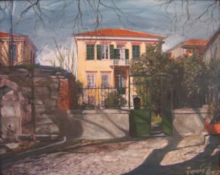 Platanos, acrylic on canvas, 80x60 ,2006