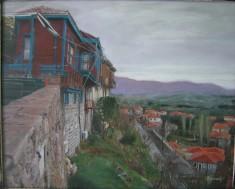 Molyvos1 , acrylic on canvas, 80x60 ,2006