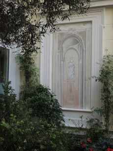 fresco at hotel Grande Bretagne, Athens