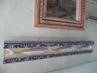 ceration and painting of molded frames