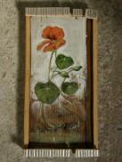 capucines, acrylic on wood, 2012