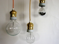 luminaires in various materials